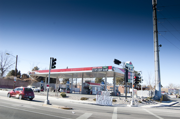The Air Quality Control Board overturned a decision allowing this Smith's gas station to pump more than the company originally proposed. (Photo by Margaret Wright)