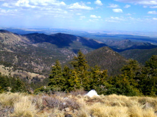 The view from atop Mt. Taylor — Photo by Robin Brown