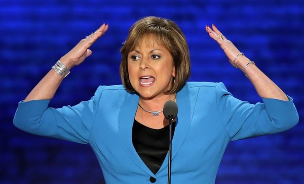 Gov. Susana Martinez speaks at the Republican National Convention on Aug. 29, 2012.